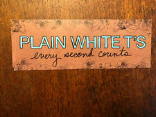 Plain White T's sticker promo for Every Second Counts cd 2006