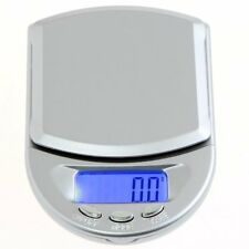 500g * 0.1g Mini LCD Digital Pocket Jewelry Diamond Scale silver