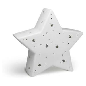Welink Light Glow Ceramic Bedside Table Novelty Lamp Star Child Night Light