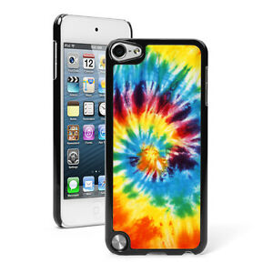 For Apple iPod Touch 4th 5th 6th Hard Case Cover 394 Tie Dye Spiral