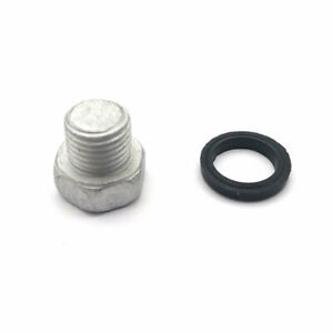 Engine Oil Pan Drain Plug Bolt With Washer Fits Mazda 2/3/5/6/626/323 HE0310404