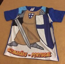 Gift Souvenirs Portugal Toddler Knight Shirt Sz 4