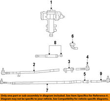Jeep CHRYSLER OEM 07-16 Wrangler Steering Gear-Outer Tie Rod End 52060053AE