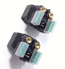 TWO NEW STARTER SOLENOID RELAYS YAMAHA SX600 SX600R SNOWMOBILE 2000 - 2003