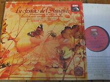 2C 181-52293/4 Roussel Le festin de l'Araignee etc. / Cluytens 2 LP set