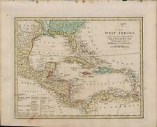 1804  WILKINSON MAP - WEST INDIES CUBA FLORIDA CARBIBEAN  B11.22