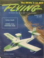 Flying Magazine Colonial Skimmer & Testing a Rebuilt March 1956 020418nonr