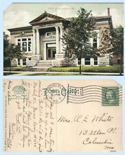 Public Library Moberly Missouri 1911 Postcard - Architecture