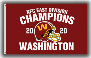 Washington Football Team NFC East Division Champions Flag 90x150cm 3x5ft Banner