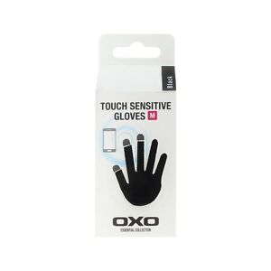 Genuine OXO Gloves with Touch Screen Sensitive Finger Tips For Smartphone Tablet