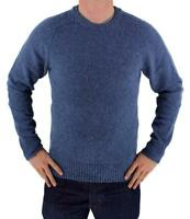 Levi's Men's Premium Classic Wool Sweater Blue 644590001