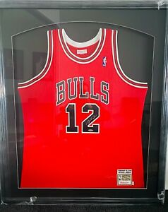 """Michael Jordan Signed 1990 Valentines Day """"Missing Jersey"""" Mitchell & Ness #12"""