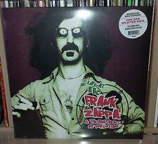 LP FRANK ZAPPA - LIVE AT BBC - PURPLE - BLACK SPLATTER
