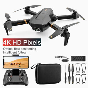 V4 Rc Drone 4k HD Wide Angle Dual Camera Wide Angle Camera 1080P WiFi FPV Drone