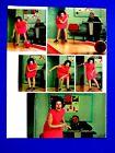 Lady Bird Johnson Bowling White House Secrete Service Original Magazine Picture