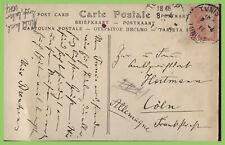 Tunisia 1911 postcard to Germany