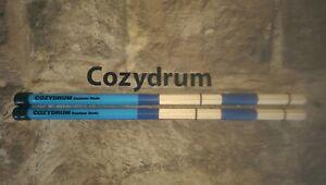 COZYDRUM PRO ROD DRUM STICKS Hand made British Custom rods..blues