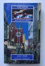 JUST WAR - Doctor Who - Lance Parkin - Virgin New Adventures - 1st Edition