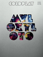 COLDPLAY MYLO XYLOTO Piano Vocal Guitar Sheet Music Book Songbook Shop Soiled