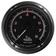 Equus 6088 Tachometer 6000 Series 0-8000 rpm 3 3/8in Dia FaceANalog Electrical