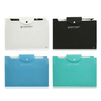 A4 Expanding File Folder Organiser Paper Holder Blue Green Black White 12 Pocket