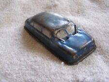 Vintage Argo Steel Blue Car Toy