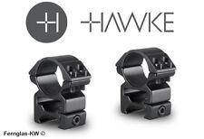 Hawke 22114 25,4mm ringmontage High for Weaver Rail, zielfernrohr-halterung