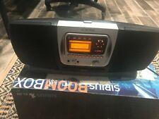 Audiovox Sirbb1 Sirius Satellite Radio Portable Boombox + Srs Radio Shuttle