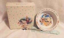 New listing 1984 Avon Baby's Keepsake Spoon & Bowl Set, Never Used Original Box Mother Goose
