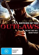 RETURN OF THE OUTLAWS - CLASSIC WESTERN - NEW REGION 4 DVD FREE LOCAL POST