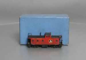 """Custom Painted Overland HO BRASS Great Northern """"1945"""" Steel Caboose/Box"""