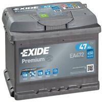 EXIDE Starter Battery PREMIUM *** EA472