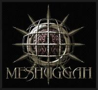 OFFICIAL LICENSED - MESHUGGAH - CHAOSPHERE SEW ON PATCH HEAVY METAL SWEDEN