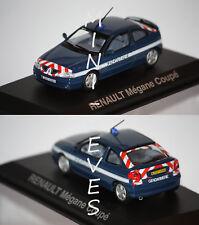 "Norev Renault Mégane Coupé ""Gendarmerie"" 2001 1/43 517672"