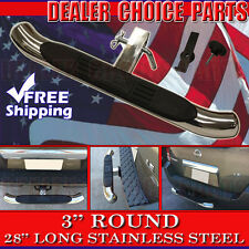 "Hitch Step 3"" Stainless Steel Truck SUV 28"" Long Bumper Guard For 2"" Receivers"