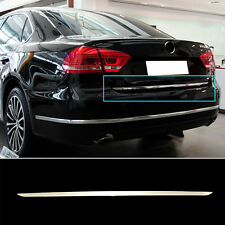 FIT FOR 11-15 VW PASSAT B7 CHROME REAR TRUNK BOOT TAILGATE DOOR COVER TRIM STRIP