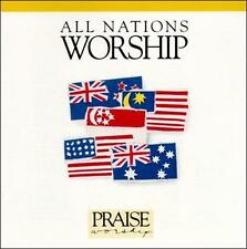 ALL NATIONS WORSHIP CD HOSANNA MUSIC NEW SEALED