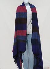 "Yak Wool Blend|""Oversized""|Blanket/Throw/Shawl| Handloomed|Nepal|92-88"" x 50-46"""