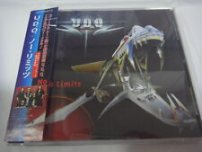 U.D.O.-No Limits JAPAN 1st.Press w/OBI Bonus Track Accept Scorpions Sinner