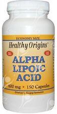 Healthy Origins, ácido alfa lipoico, 600mgx150caps; - el mismo día envío antes de las 2pm