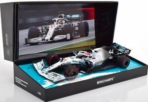 1/18 Minichamps Lewis Hamilton 2019 F1 Mercedes-AMG F1 W10 EQ #44 German GP