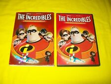 The Incredibles Dvd With Slipcover 2 Disc Collectors Edition With Disney Code