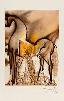 Cheval de Troie (Trojan Horse) - Les Chevaux de Dali by Salvador Dali Art Print