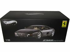 HOT WHEELS ELITE F355 BERLINETTA FERRARI 1/18 BLACK LE X5478 *NEW*