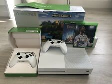 Microsoft Xbox One S 500gb Console - White, 2 Controllers and 2 Games, Vgc
