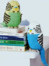KNITTING PATTERN How To Make a BUDGIE BUDGERIGAR PARAKEET BIRD Soft Knit Toy 6""