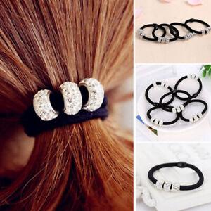 5/10PCS Women Girls Hair Band Ties Rope Ring Elastic Hairband Ponytail Holder