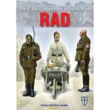 Jurado: Der Reichsarbeitsdienst RAD 3. Reich 2 Weltkrieg Militaria Flak Ostfront