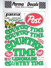 Parma Country Time Vintage Decal 10689 modellismo