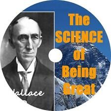 Science of Being Great Wallace Wattles Self Help Audiobook on 1 MP3 CD Free Ship